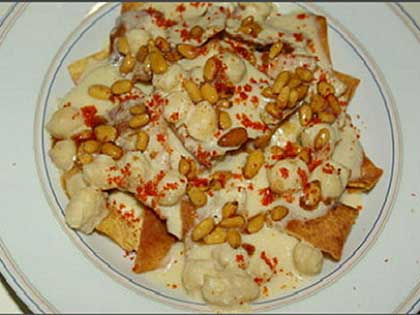 Fatteh aux pois chiches