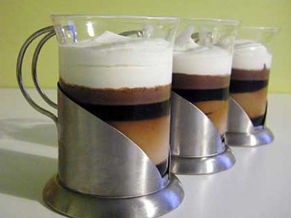 Irish coffee revisité
