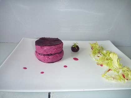 Mousse de bettrave