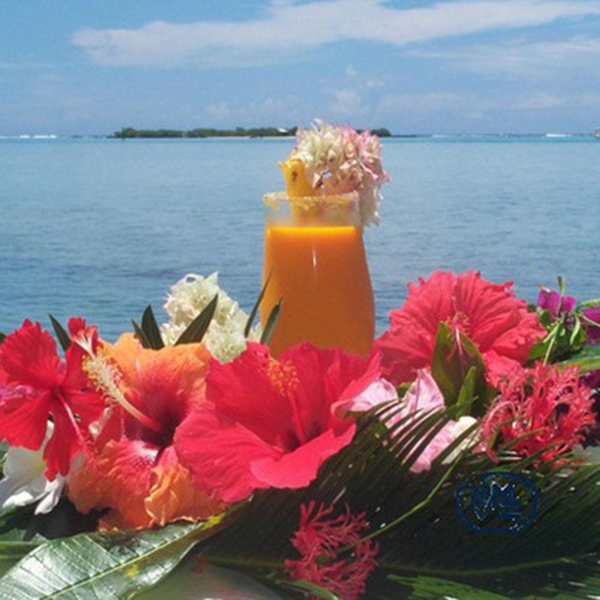 Recette Cocktail Tahitien L Ile Aux Fleurs