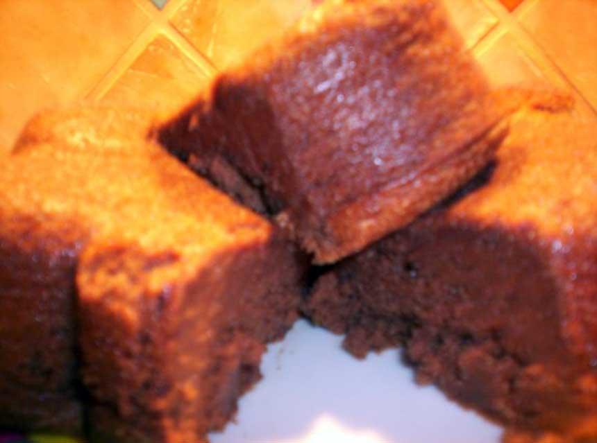Recette fondant au chocolat et la cr me de marrons - Fondant chocolat creme de marron ...