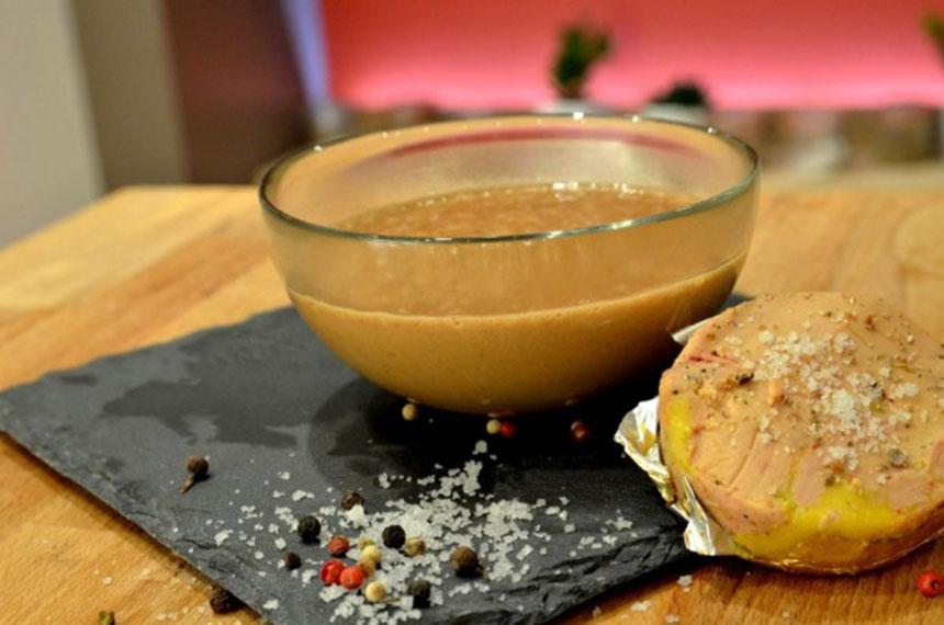recette sauce au foie gras. Black Bedroom Furniture Sets. Home Design Ideas