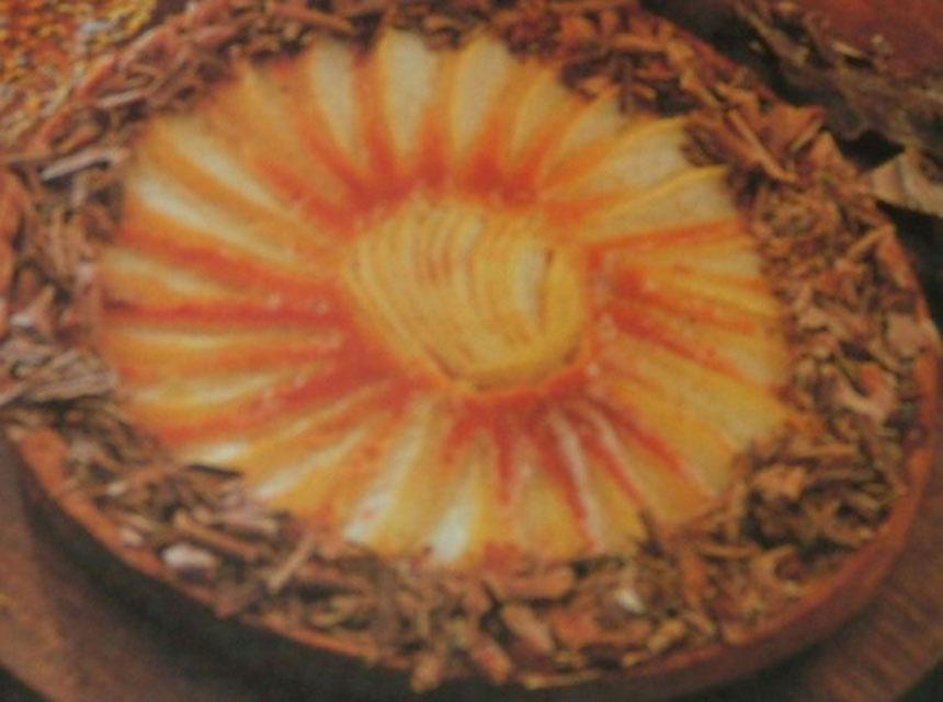Recette tarte au chocolat et aux poires maison - Recette tarte aux chocolat ...
