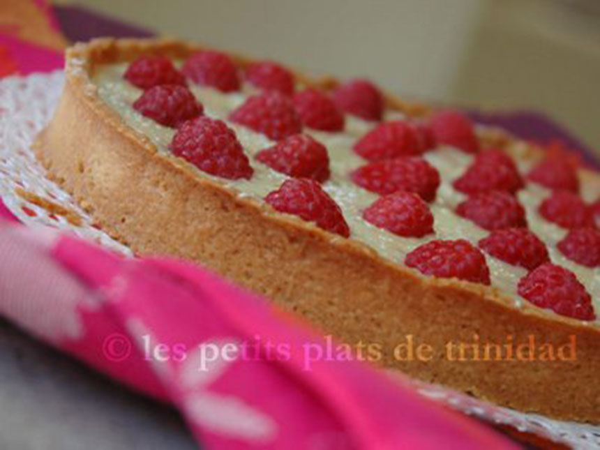 recette tarte gourmande chocolat blanc et framboises. Black Bedroom Furniture Sets. Home Design Ideas